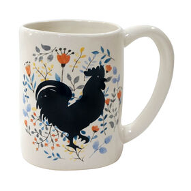 Picture of Stoneware Rooster Design Mug