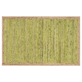 Picture of GAVIN JUTE/CHINDI LT GRN 27X45