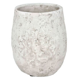 Picture of Terracotta Embossed Planter 9-in