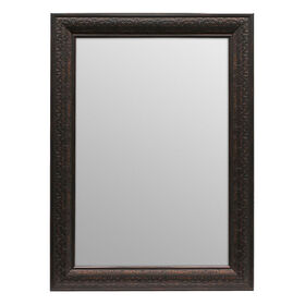 Picture of 24 X 36-in Bronze Ornate Beveled Isaac Mirror