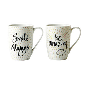 Picture of Set of 2 Smile and Amazing Mugs