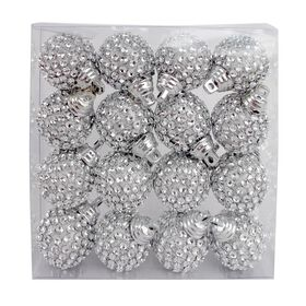 Picture of Diamante Ball Ornaments- Set of 16