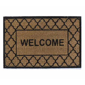 Picture of Black Fashion Trends Doormat 18 X 27-in