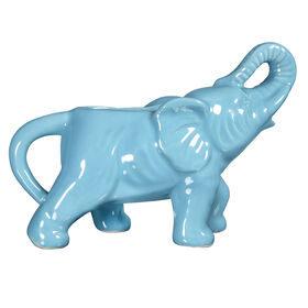 Picture of Aqua Elephant Creamer