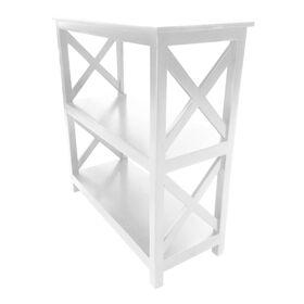 Picture of 3 tier White Bookshelf