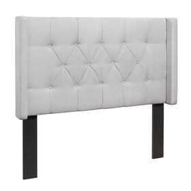 Picture of Hilton Headboard- Queen Natural Linen