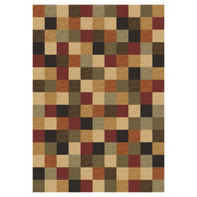Picture of D114 Gloucester Nexus Red Rug