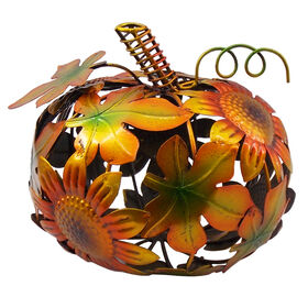 Picture of Metal cut-out Sunflower Pumpkin