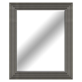 Picture of 22 X 28-in Beveled Pewter Mirror