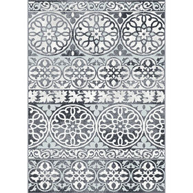 Picture of A332 Strato Smoke Rug- 5x7 ft