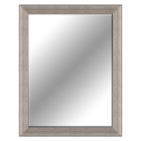 Picture of 30 X 40-in Distressed Gray Beaded Mirror