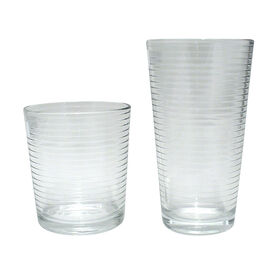 Picture of Theory 16 Piece Cooler and Double Old Fashion Glass Set