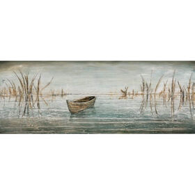 Picture of 63 x 16 Boat Panel Canvas Art