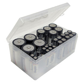 Picture of Battery Storage Box, Clear