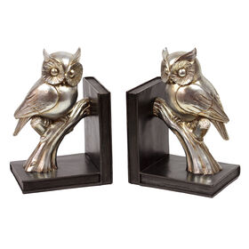 Picture of 6X9 2AST RESIN OWL BOOKENDS
