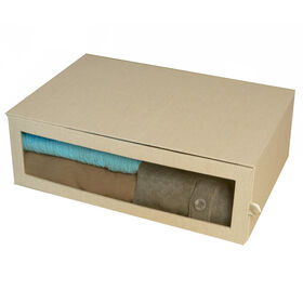 Picture of Drop Front Sweater Box - Linen