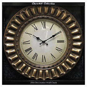 Picture of 20-in Decorative Edge Roman Numeral Clock