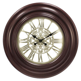 Picture of Mahogany Wall Clock