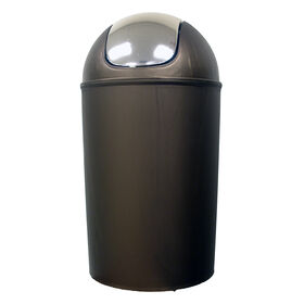 Picture of 11 Quart Swing Bin with Chrome Lid - Bronze