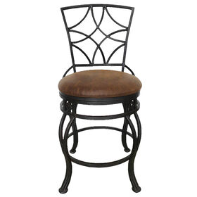 Picture of HK Leah 24-in Swivel Barstool