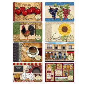 Picture of Foamback Placemat- 4 Assortments