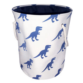 Picture of Fabric Hamper with Rope Handles and Dinosaur Pattern