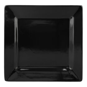 Picture of S/4 SQR DINNER PLATE BLACK