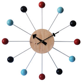 Picture of SC 24D CHEMISTRY BALLS CLOCK