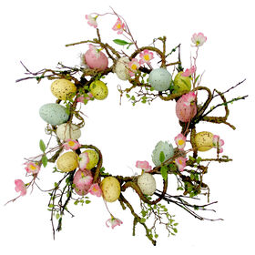 Picture of Egg Berry Wreath- 22 in.