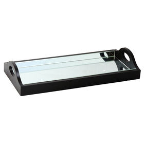 Picture of Small Nested Mirrored Tray- 15x7 in.
