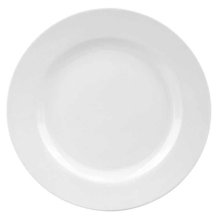 S/4 RD DINNER  PLATE  WHITE