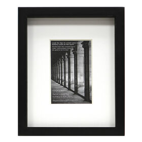 4 X 6-in Black Matte Picture Frame