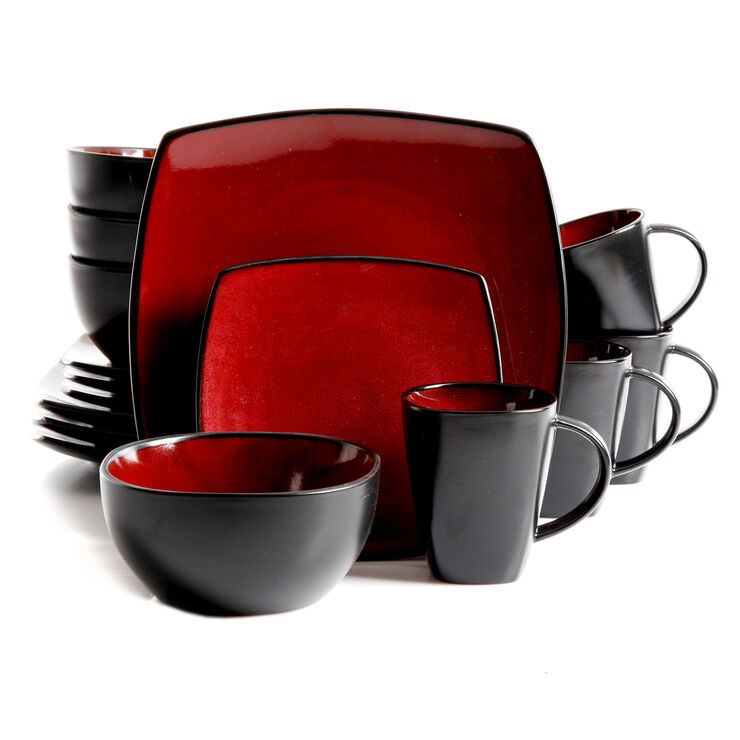 16 PC SOHO LOUNGE RED