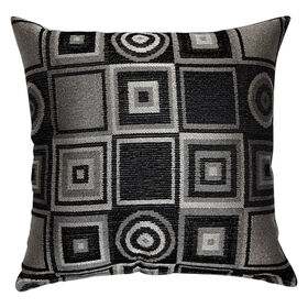 Picture of Boomerang Pillow - Black, 23-in.