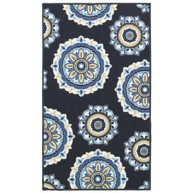 Picture of E172 MEDALLION NAVY 31X53