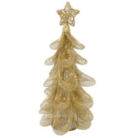 Picture of 12-in Gold Mesh Tree
