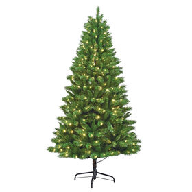 Picture of T4 7.5-ft LED Show Christmas Tree with 500 Lights