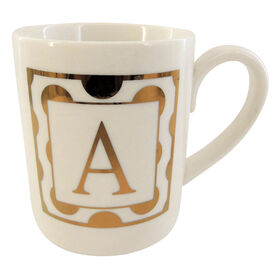 Picture of Ceramic Gold Monogram Mug