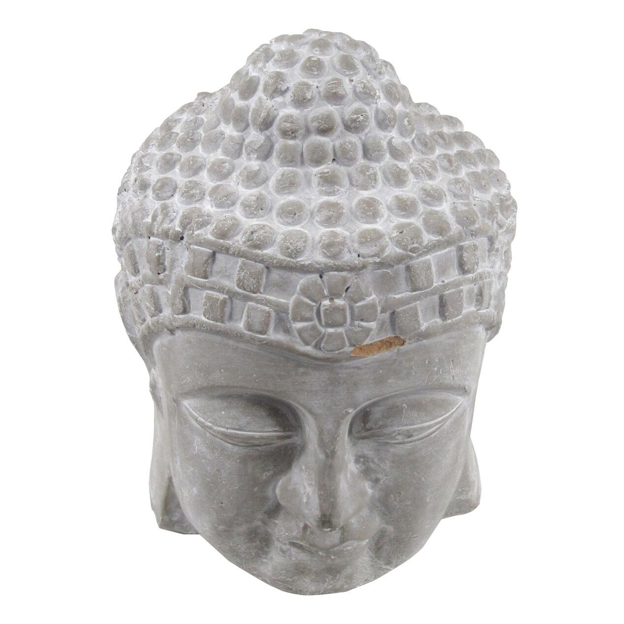 Buddha Head Decor Grey Stone Buddha Head Decor At Home