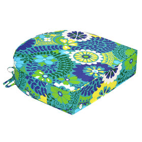 Picture of Luxury Azure Curved Back Seat Cushion