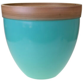 Picture of Sky Blue Planter- 14.5-in