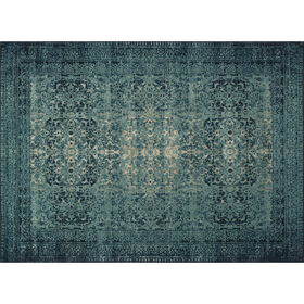 Picture of A197 Indigo Blue Rug