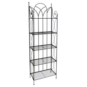 Picture of Black Gothic Baker's Rack 24 X 76-in