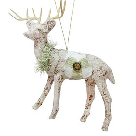 Picture of 6.5in Plastic and Paper Deer