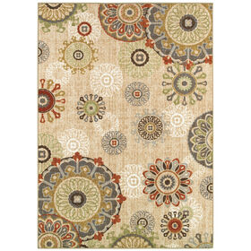 Picture of D270 Floating Medallion Rug