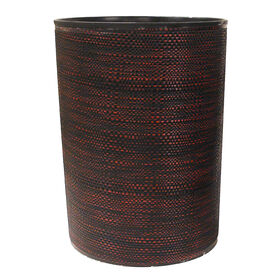 Picture of DECO WRAP WASTE BIN RED/BLK