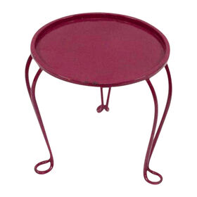 Picture of Pink Nested Round Metal Table - Small