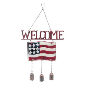 Picture of 16-in. Patriotic Welcome - Assortment of 2