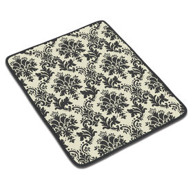 Picture of Small Dish Drying Mat, Black and Cream
