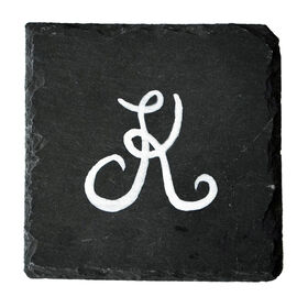 Picture of Slate Monogram Coasters- Set of 4